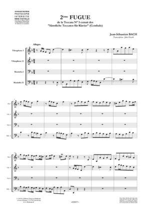Deuxième fugue de la  Toccata N° 1 – Jean-Sébastien Bach