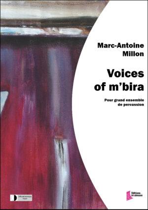 Voices of m'bira. Ensemble de percussion. – Marc-Antoine Millon