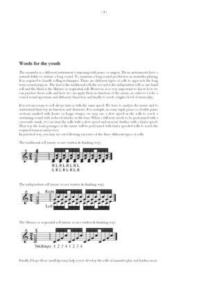 Constellations. Marimba album for the youth I by Chin-Cheng Lin