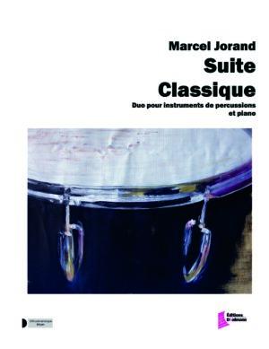 Suite Classique pour percussion et piano – Marcel Jorand