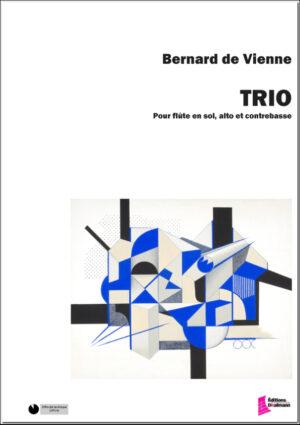 Trio pour flûte en sol, alto, contrebasse. Conducteur et parties. – De Vienne Bernard