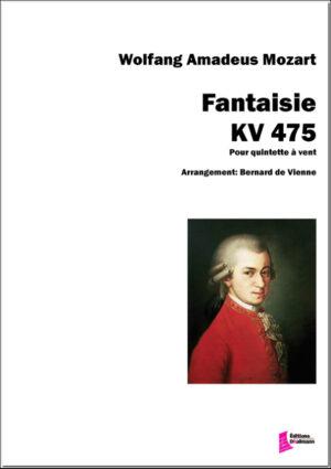 Mozart : Fantaise KV 475. Wind Quintet – De Vienne Bernard