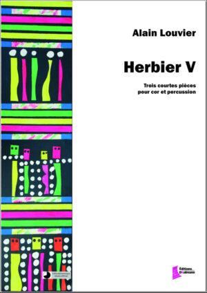 Herbier V – Alain Louvier