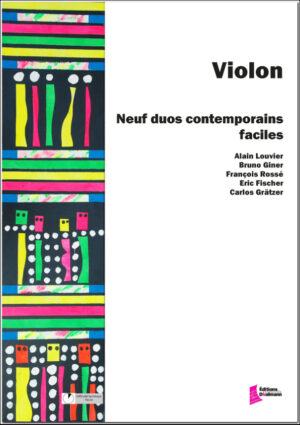9 contemporary easy violin duets – Various composers
