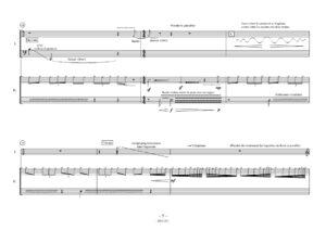 Sous la foudre, un bruit de rosée, coule dans les bambous – Richard Perrin
