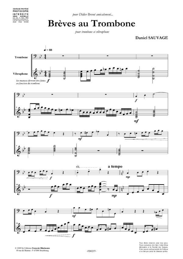 Brèves au trombone