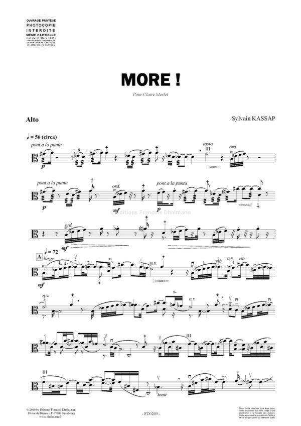 More !