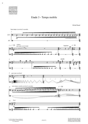 Five studies for snare drum – Michel Pascal