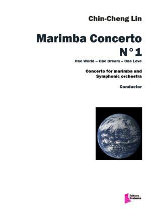 Concerto Nr 1 pour marimba et orchestre symphonique – Chin-Cheng Lin