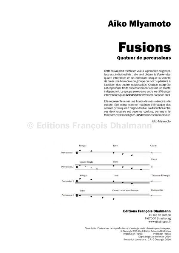 Fusions - Aïko Miyamoto