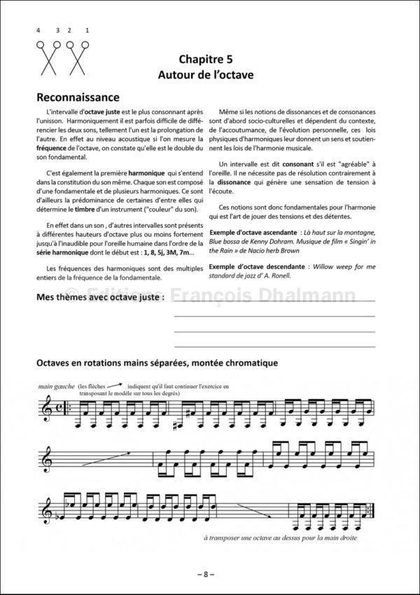 Les claviers de percussion de deux à quatre - Volume 2